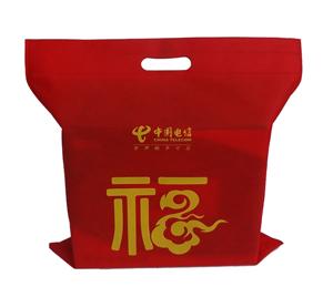 雄纬经典案例---中国电信包装袋